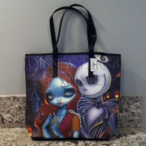 Disney Nightmare Before Christmas Tote Bag Purse